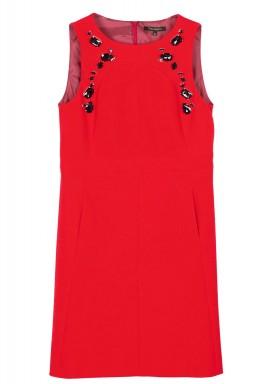 فستان باللون البنك