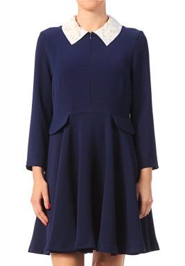 فستان كريب كوتور