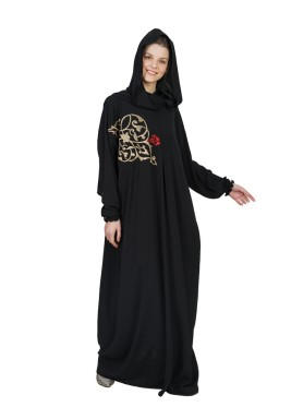 ثوب صلاة دمشقي أسود