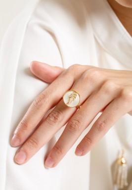 خاتم ألماس بحرف الألف