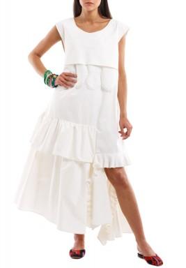 فستان إزميرلادا الأبيض