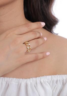 خاتم سلسلة ذهبي