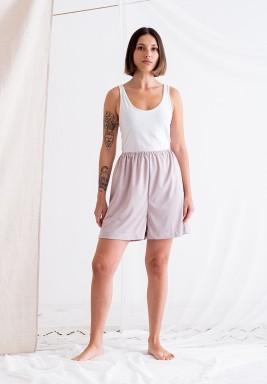 Nude Beige Shorts Lining
