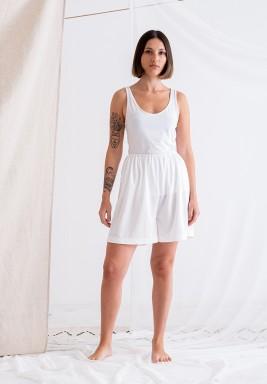 White Shorts Lining