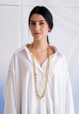 23karat Long Necklace - Nefertiti