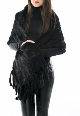 شال أسود