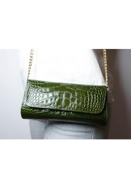 حقيبة يد جالا أخضر غامق