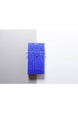 حقيبة طراز صندوق السجائر أزرق