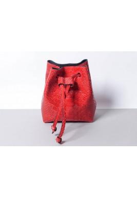 حقيبة الخصر كاندي أحمر