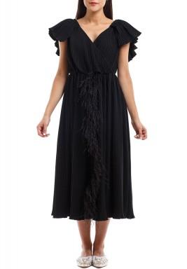 فستان شينوا الأسود