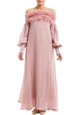 فستان بالوما الوردية