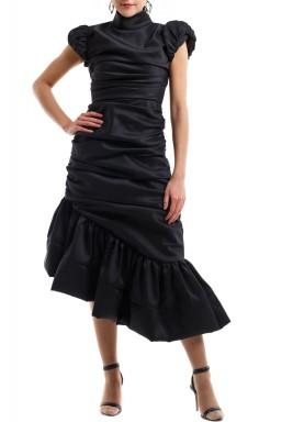 فستان الفلامنكو الأسود