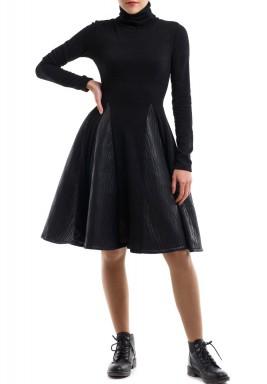 فستان ميستيك ليدي الغامضة الأسود