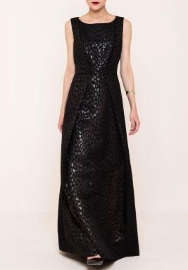 فستان جاكارد