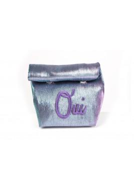 حقيبة فرنسية فاخرة - أرجوانية زرقاء