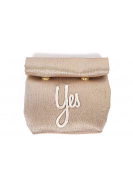 حقيبة فاخرة - ذهبية