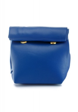 محفظة بنمط جراب ملتف صغيرة أزرق