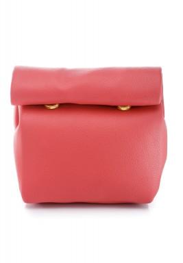 محفظة بنمط جراب ملتف صغيرة وردي