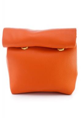 محفظة بنمط جراب ملتف صغيرة برتقالي
