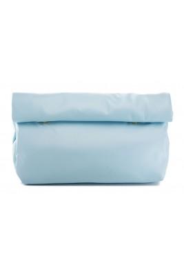 محفظة بنمط جراب ملتف كبيرة أزرق سماوي