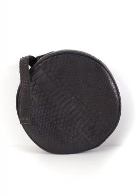 حقيبة دائرية - سوداء