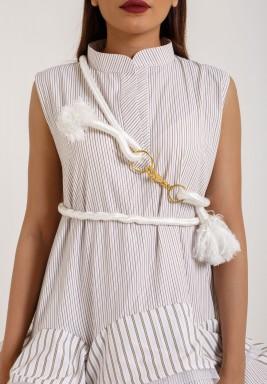 حزام الحبل الأبيض