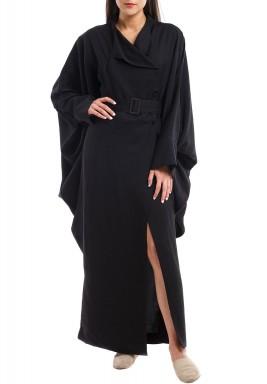 فستان بليزر أسود