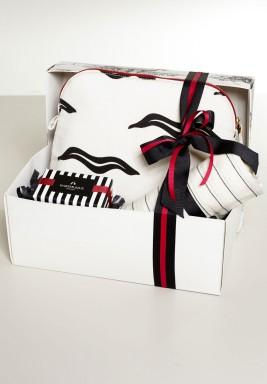 صندوق هدايا فاخر ابيض و اسود