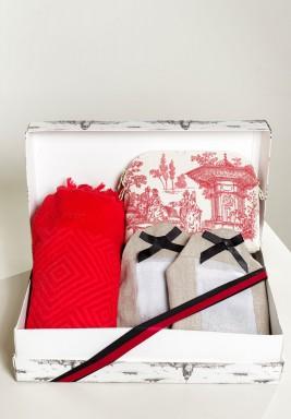صندوق هدايا شاطئي فاخر