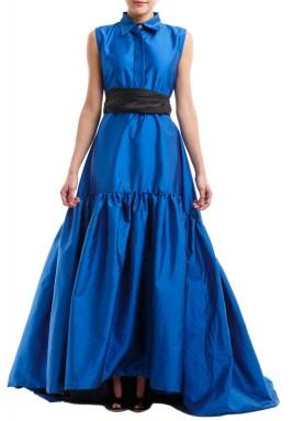 فستان آزور ڤانا الأزرق والأسود