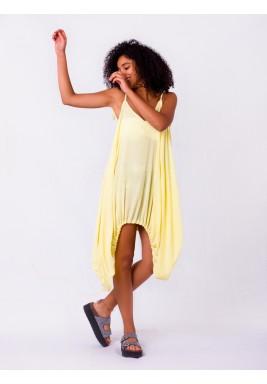 فستان بحمالة سباغيتي للشاطئ