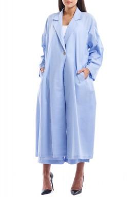 طقم مايومي الأزرق متوسط الطول