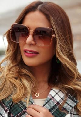 نظارة شمس وردية