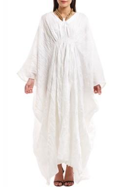 فستان كومو أبيض