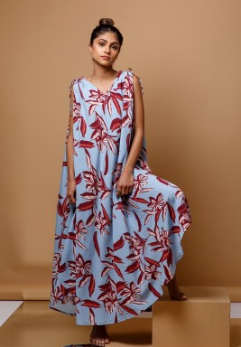 The Baija Floral Kaftan