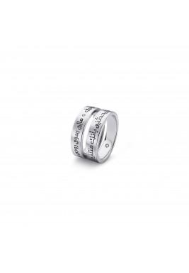 خاتم الحب موديل 02A أبيض