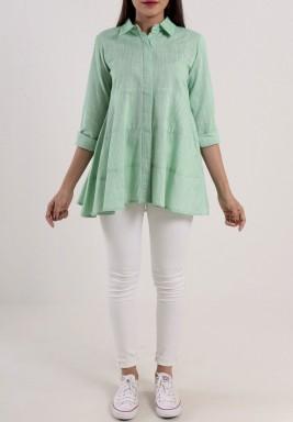 قميص أخضر