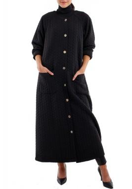 معطف الجاكار الأسود