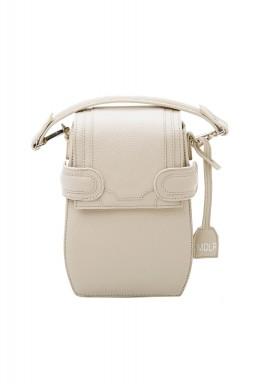 حقيبة ظهر أكتافيو الكريمية الجلد