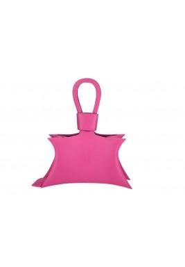 حقيبة سيدا الوردية الجلد نمط نجمة