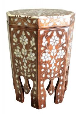 صندوق خشبي بطراز زهور كلاسيكي -بي