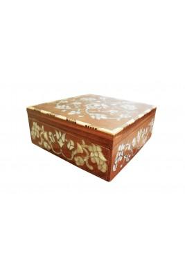 صندوق خزينة بينتي الخشبي