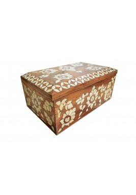 صندوق خزينة فينس الخشبي