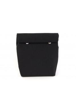 حقيبة ملتفة حجم متوسط - سوداء