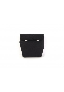 حقيبة ملتفة حجم صغير - سوداء