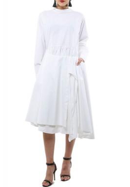 فستان قميص بسحاب