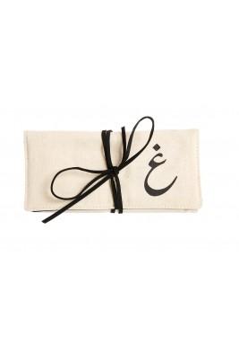 حقيبة مجوهرات حرف غين