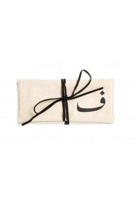 حقيبة مجوهرات حرف الفاء