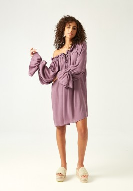 Purple Selene Dress