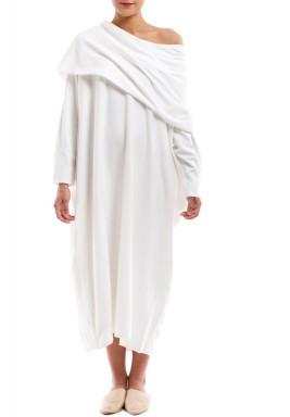 فستان تيري ذي أرتيست الأبيض